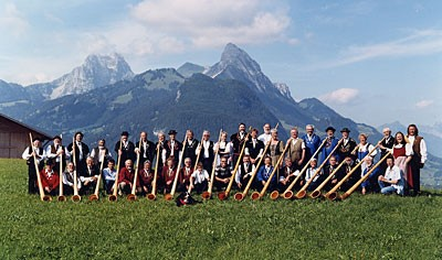 The Swiss Alphorn School  - click on the photo for the full screen image.